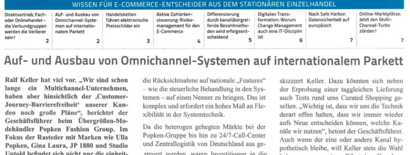 engelhorn goes Multichannel