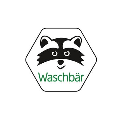 Logo Waschbär